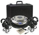 Califone International 1886PLC-6 SD Listening Center, 6 Person