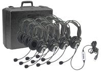 Califone International 4100-10  USB Stereo Headset, with Microphone, 10-Pack