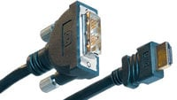"Liberty AV Solutions E-HD-DVI-02 2 Meter HDMI ""A"" to DVI-D Male CL2 Cable"