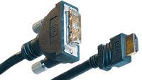 """Liberty AV Solutions E-HD-DVI-03 3 Meter HDMI """"A"""" to DVI-D Male CL2 Cable E-HD-DVI-03"""