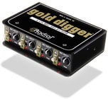 Radial Engineering Gold Digger 4-Channel Microphone Selector GOLD-DIGGER