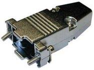 BTX CD-9709HM  D-Sub Metal Hood,  with 7mm CableOD