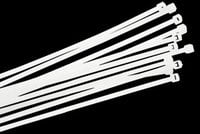 Liberty AV Solutions CT-8  Pack of (100) White 40 lb. Tensile Strength Economy Cable Ties