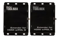 BaseT® Extender for HDMI & Bi-IR with POL
