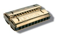 Double Puck Harmonica, Key C/G