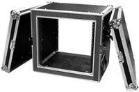 12U Deluxe Shock Mount Amplifier Rack Case
