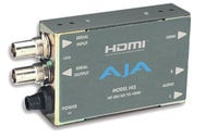 AJA Video Systems Inc Hi5 HD-SDI/SDI to HDMI Video and Audio Mini Converter with Power Supply HI5
