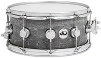 "DW DRVC6514SVS Collector's Series 6.5""x14"" Concrete Snare Drum with Satin Chrome Hardware DRVC6514SVS"
