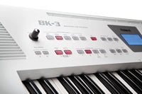 61-Key Backing Keyboard in White