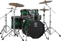 "5 Piece Live Custom Drum Kit: 10"", 12"", 16"", 22"" with 5.5x14"" Snare and Hardware"