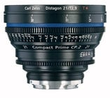 Zeiss CP.2 21mm f/2.9 EF FT CP.2 21mm f/2.9 Compact Prime Cine Lens, EF Mount, 1868-094