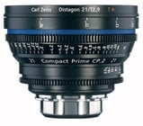 Zeiss CP.2 21mm f/2.9 PL FT CP.2 21mm f/2.9 Compact Prime Cine Lens, PL Mount, 1868-092