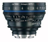 Zeiss CP.2 28mm f/2.1 EF FT CP.2 28mm f/2.1 Compact Prime Cine Lens, EF Mount, 1834-248