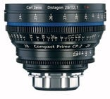 Zeiss CP.2 28mm f/2.1 PL FT CP.2 28mm f/2.1 Compact Prime Cine Lens, PL Mount, 1796-596