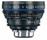 Zeiss CP.2 35mm f/2.1 PL FT CP.2 35mm f/2.1 Compact Prime Cine Lens, PL Mount, 1834-816
