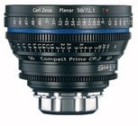 Zeiss CP.2 50mm f/2.1 PL FT CP.2 50mm f/2.1 Compact Prime Cine Lens, PL Mount, 1835-434