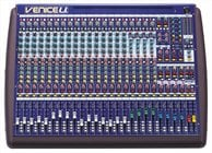 24-Channel Hybrid Mixing Desk with 8x8 USB Interface