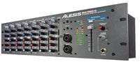 10-Channel Rackmount Mixer with Articulating Bluetooth Antenna