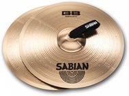 "Pair of B8 16"" Marching Cymbals in Natural Finish"