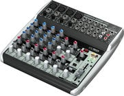 12-Channel 2-Bus USB Mixer with Built-In Compressors
