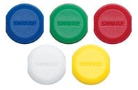 Shure WA621 Color ID Caps for Transmitters WA621