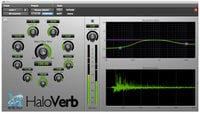 Metric Halo HVERB-AAX-1 HaloVerb Algorithmic Reverb for Pro Tools™ 10 AAX (Electronic Delivery)