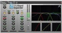 Metric Halo Multiband Expander Dynamic Frequency Shaping for Pro Tools™ 10 AAX (Electronic Delivery)