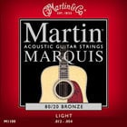 Marquis 80/20 Bronze Light Acoustic Guitar Strings
