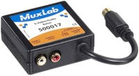 MuxLab 500017 S-Video/Audio Balun MUX-500017