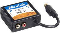 MuxLab MUX-500017 S-Video/Audio Balun