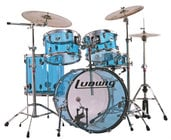 Blue 5-Piece Vistalite Big Beat Shell Pack