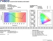 "Rosco Laboratories E-Colour #718 21"" x 24"" Sheet of 1/2 Shanklin Frost Filter"