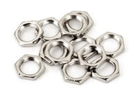 Mounting Hardware, 12 Nickel Hex Nuts
