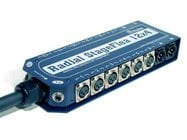 110 ft. 12x4 Stage Flea Sub-Snake with 12 Channels, 4 XLR Returns