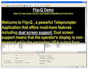 Jony Jib JP Flip-Q Pro Teleprompter Reversing/Scrolling Software