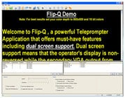 Teleprompter Reversing/Scrolling Software