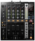 4-Channel Digital DJ Mixer in Black with Built-In USB Soundcard