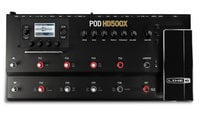Line 6 POD HD500X Multi-Effects Guitar Pedalboard with Amp Modeling