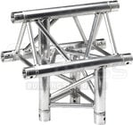 Global Truss TR4096V-U 1.64 ft. 3-Way Vertical Triangular Truss T-Junction (Apex Up)