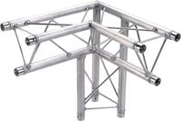 Global Truss TR-96117-33 1.64 ft (0.5m) 3-Way 90° Right Corner Triangular Apex TR96117-33