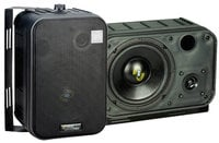 6.5'' Two-Way Bass Reflex Mini-Monitor System & Bookshelf/wall mount Speakers (Pair)