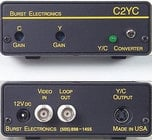 Burst Electronics C2YC  Composite to S-Video (Y/C) Converter