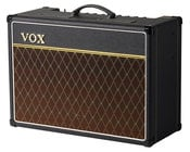 "Vox Amplification AC15C1X 15W 1x12"" Combo Guitar Amplifier with Celestion Alnico Blue Speaker"
