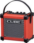 "Roland Micro Cube GX 3W 1x5"" Battery-Powered Modeling Combo Guitar Amplifier in Limited Edition Red"