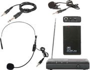 VES Triple Play 1-Channel VHF Wireless Headset/Lavalier Microphone/Instrument System