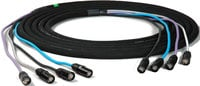100' 4-Channel NE8MC-B Cat5e Tactical Ethernet Snake