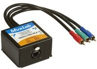 MuxLab 500052-Pro-RCA Component Video/Analog Audio ProAV Balun MUX-500052PRORCA