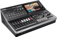 All-In-One HD Multi-Format AV Mixer with Web Streaming & Recording