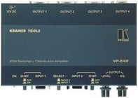 Kramer VP242 2x1 XGA Switcher/1:4 Distribution Amplifier