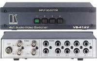 4x1 Video Audio Switcher